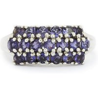 1.16ct Bengal Iolite Sterling Silver Ring