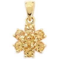 1.94ct Ouro Preto Imperial Topaz 9k Gold Pendant