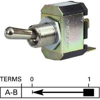Durite - Switch Flick Momentary On Metal Dolly Bg1 - 0-687-01