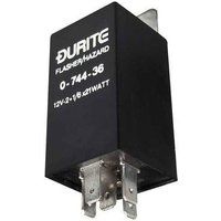 Durite - Flasher/Hazard Unit 2+1/6 x 21 watt 12 volt Cd1 - 0-744-36