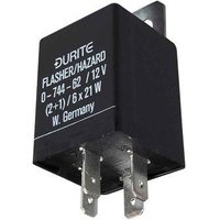 Durite - Flasher/Hazard Unit 2+1/6 x 21 watt 12 volt Cd1 - 0-744-62