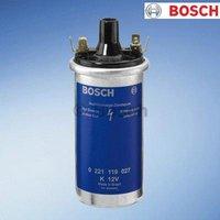 1x 0221119027 Bosch Ignition Coil 12V