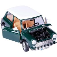 Bburago MINI COOPER 1969 1:16 Scale Model Gift Die Cast Sports Race Car GREEN