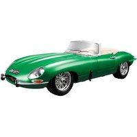 Bburago JAGUAR E TYPE CABRIOLET 1961 1:18 Scale Model Gift Die Cast Car GREEN