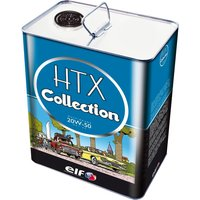 ELF TOTAL CLASSIC CAR ENGINE OIL HTX COLLECTION MULTIGRADE 20W50 5 LITRE TIN