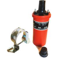 Ignition Coil - Park Remax - Standard 6V PB177 ES13 PushIn Connector NOS UK Made