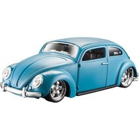 MAISTO VOLKSWAGEN BEETLE 1:24 Scale Model Toy Gift Diecast Race Play Car BLUE