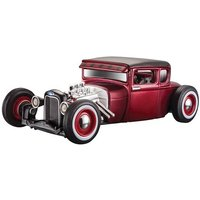 MAISTO FORD MODEL A 1929 1:24 Scale Model Toy Gift DieCast Classic Race Car RED