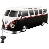 MAISTO RC VW SAMBA CAMPER VAN - 1:24 SCALE BLACK Remote Control Car Toy Gift