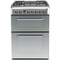 Indesit KDP60SE S Freestanding Cooker - Stainless Steel