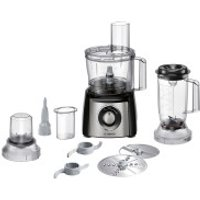 Bosch Compact MCM3501MGB 2.3 Litre Food Processor - Stainless Steel