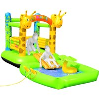 Friedola Giraffe Bouncy Castle and Pool