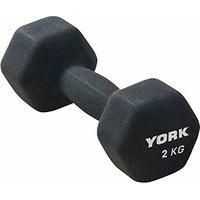 York Neo Hex Dumbbell 2kg