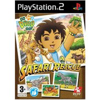 Go Diego Go! Safari Rescue (PS2)