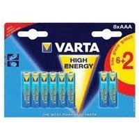 Varta High Energy 8x AAA (4903)