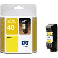 HP No. 40 (51640Y) Yellow
