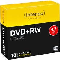 Intenso DVD+RW 4,7GB 120min 4x 10pk Slim Case