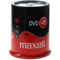 Maxell DVD-R 4,7GB 120min 16x 100pk Spindle