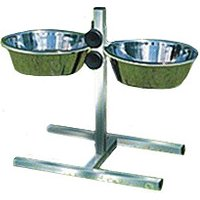 Trixie Dog Bowl Stand with 2 Bowls, 0,75 l / ø 15 cm
