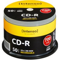 Intenso CD-R 700MB 80min 52x 50pk Spindle