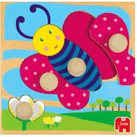 Jumbo Puzzle - 3 Levels Butterfly (53121)