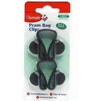 Clippasafe Pram Bag Clips (twin packs)
