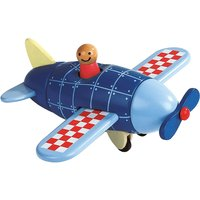 Janod Wooden Magnetic Airplane