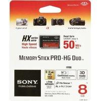 Sony Memory Stick PRO-HG Duo HX 8GB (MSHX8B)