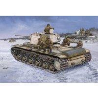 HobbyBoss Russia KV-1 Model 1942 Heavy Cast Turret Tank (84813)