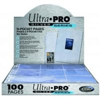 Ultra Pro Silver Series Pages 9-Pocket
