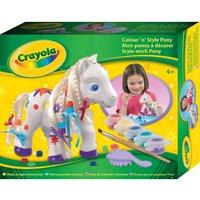 Crayola Colour'n Style Pony
