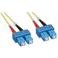 InLine LWL Cable Duplex SC/SC 9/125 15m