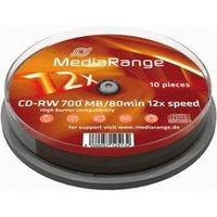 MediaRange CD-RW 700MB 80min 52x 10pk Spindle