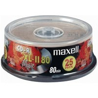 Maxell CD-R Audio 700MB 80min 25pk Spindle