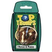 Winning-Moves Top Trumps Horses & Ponies