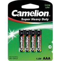 Camelion 4x AAA / R03 Green R03P