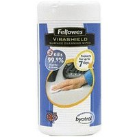 Fellowes Virashield Surface Wipes