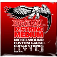 ERNIE BALL 12-string Medium Nickel Wound Electric .011 - .052