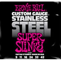 ERNIE BALL Stainless Steel Super Slinky .009 - .042