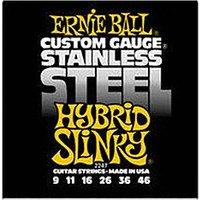 ERNIE BALL Stainless Steel Hybrid Slinky .009 - .046