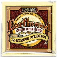 ERNIE BALL Earthwood 12-string Medium .011 - .052 Acoustic 80/20 Bronze
