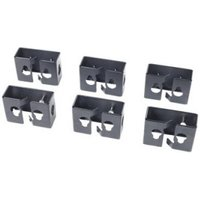 APC Cable Containment Brackets with PDU Mounting Capability