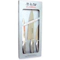 Global Knife Set 3 Piece (G-211)