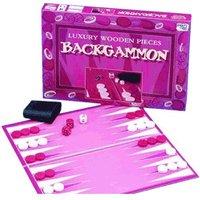 Toybrokers Wooden Backgammon