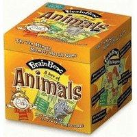 Green Board Games BrainBox - Animals