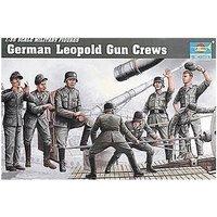 Trumpeter German Leopold Gun Crews (0406)