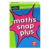 Green Board Games Maths Snap Plus