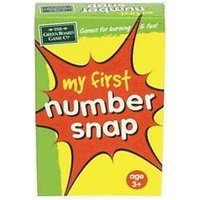 Green Board Games My First Number Snap