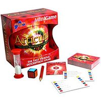 Drumond Park Articulate Mini Family Board Game | Travel Games for Adults - Compact Version of the Fast Talking Description Game | Family Games For Adults And Kids Suitable From 12+ Years