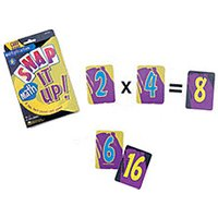Learning Resources Snap It Up! Card Games Math Multiplication